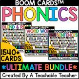 Phonics Boom Cards™️ ULTIMATE Bundle   Digital Phonics Act