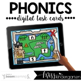 Phonics Boom Cards™ for Distance Learning | Beginning, Mid