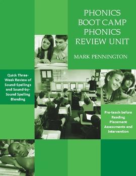 Phonics Boot Camp   Phonics Review Unit