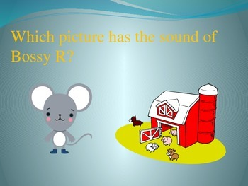 Phonics: Bossy R using AR