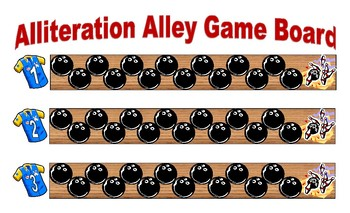 Bowling Game - Alliteration Alley