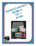Phonics Boxes Bundle - Set 1