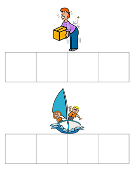 Phonics Boxes: Long A With -ai & -ay