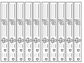 Phonics Bracelets Long Sounds