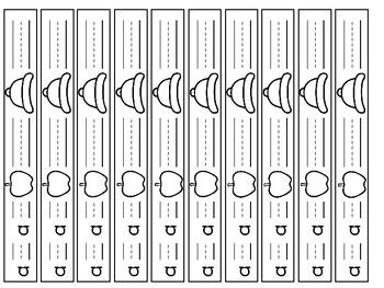 Phonics Bracelets Short Sounds