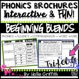 Phonics Brochures: Beginning Blends