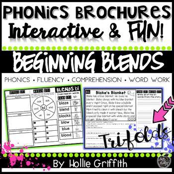 Phonics Brochures: Beginning Blends