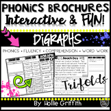 Digraphs Fluency Passages and Word Work - Phonics Brochures