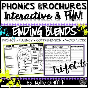 Phonics Brochures: Ending Blends