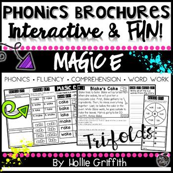 Phonics Brochures: CVCe Reading Passages