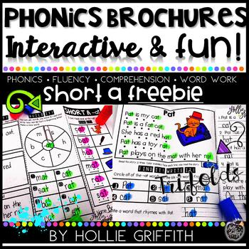 Phonics Brochures: Short a FREEBIE