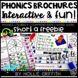 Phonics Brochures: Short a FREEBIE