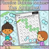 Phonics Bubble Mazes: The Alphabet