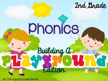Phonics Build-A-Playground Edition Practice (GROWING BUNDLE)