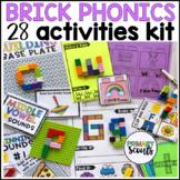 Phonics Activities using BRICKS - Bundle