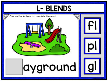 Phonics Building Words Bundle for Google Drive and Google Classroom