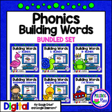 Phonics Building Words Bundle for Google Drive and Google
