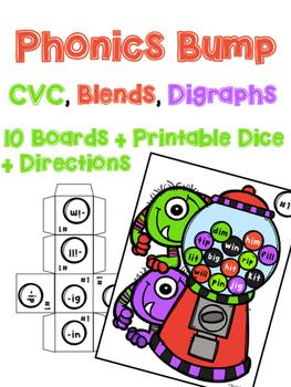 Phonics Bump: Monster Theme