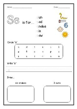 Phonics Bundle 1 - SATPIN