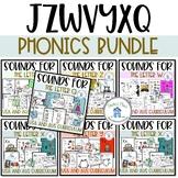Phonics Bundle 4 for JZWVYXQ