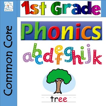 First Grade Phonics and Spelling {The BUNDLE}