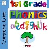 1st Grade Phonics / Spelling Bundle (A YEARLONG Bundle)