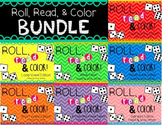 Phonics Bundle- Roll, Read, and Color