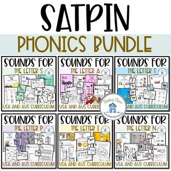 Phonics Bundle 1 for S-A-T-P-I-N