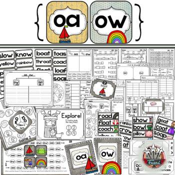 Phonics Bundle: Printables, Games, Centers, Homework