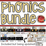 Phonics Bundle: Printables, Games, Centers, Homework | Dis