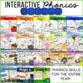 Phonics Bundle: Word Work Sorts, Worksheets, & Activities