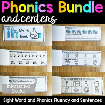 Phonics Bundle and Centers - Growing Bundle