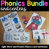 Phonics Bundle and Centers - Growing Bundle