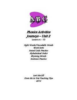Phonics Bundle for Journeys Program - Units 6-10