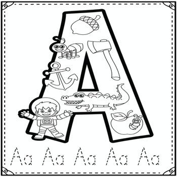 Phonics Bundle for the alphabet