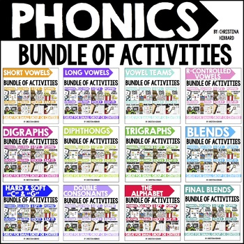 Phonics Bundle of Activities