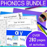 Vowel Teams - Charts, Worksheets - 22 Long Vowel Combinati