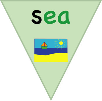 Bunting, Homophones Long E Vowel Sound: Story Based Learning