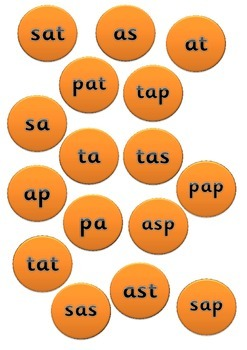 Phonics Buried Treasure Coins- full phase 2 pack