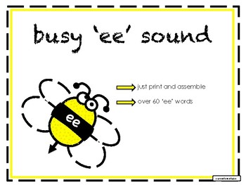 Phonics - Busy 'ee' Sound