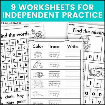 AI AY Phonics by Design Mini-Unit   AI AY Activities