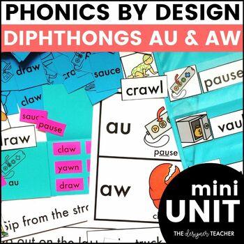 Phonics By Design AU & AW Mini-Unit