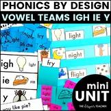 IGH IE Y Phonics by Design Long I Mini-Unit   Long I Activities