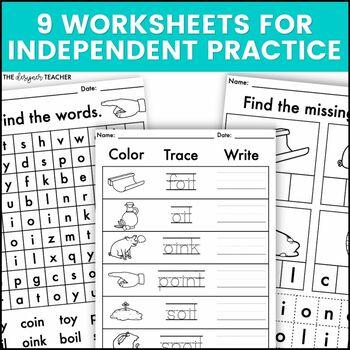 OI OY Phonics by Design Mini-Unit | OI OY Activities