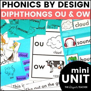 OU OW Phonics by Design Mini-Unit   OU OW Activities