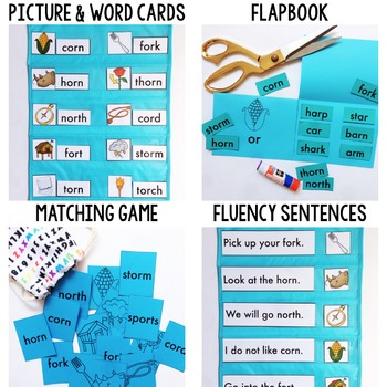Phonics By Design R-Controlled Vowel OR Mini-Unit
