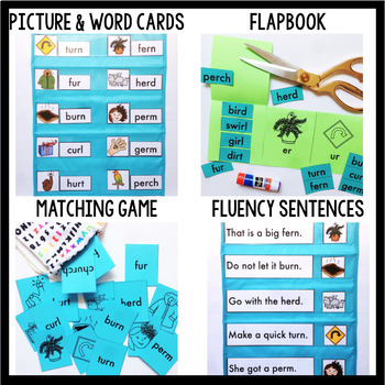 Phonics By Design R-Controlled Vowels Unit BUNDLE