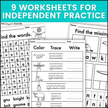 Phonics By Design Silent Letters KN & GN Mini-Unit