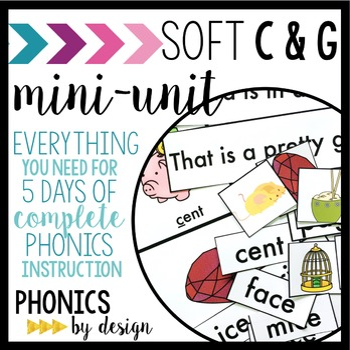 Phonics By Design Soft C & G Mini-Unit