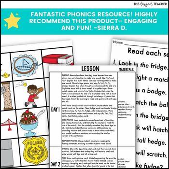 Trigraphs DGE TCH Phonics By Design Mini-Unit | Trigraphs Activities